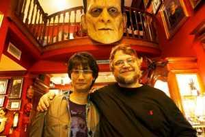 Hideo Kojima (gauche), Guillermo Del Toro (droite), droits réservés.