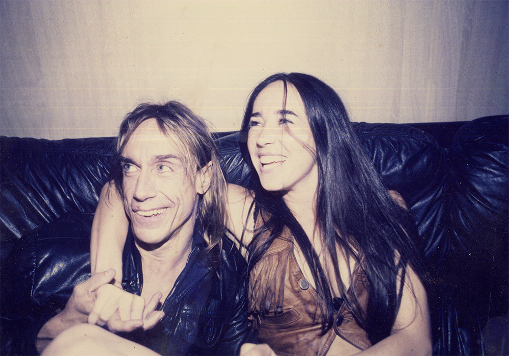 Iggy Pop et Stephanie Cornfield