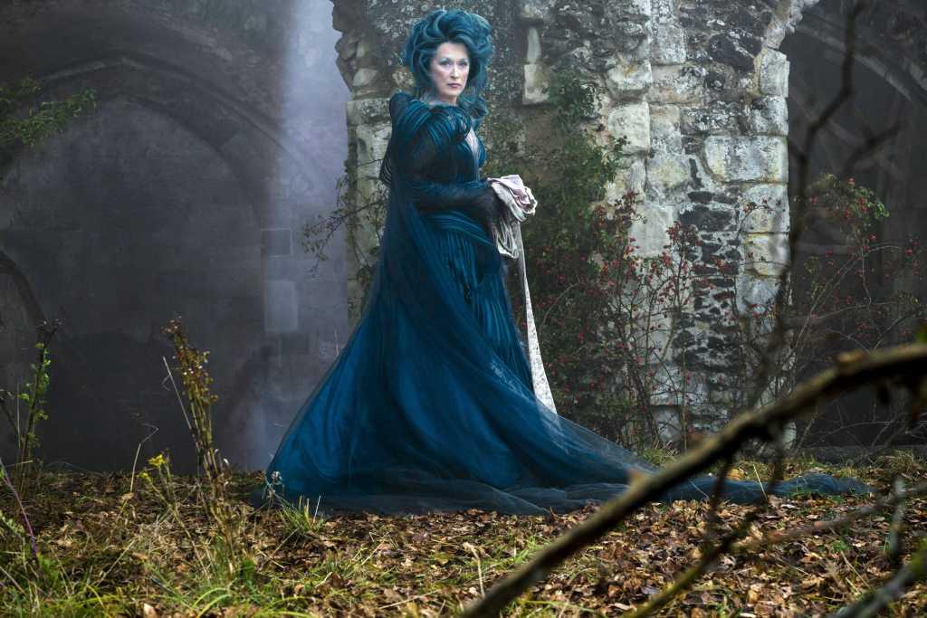 Meryl Streep grimée en méchante sorcière / nypost.com