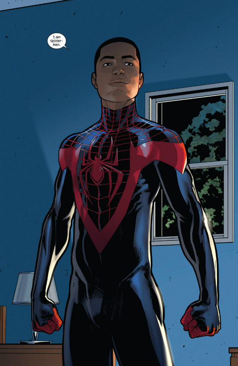 Miles Morales, Ultimate Spider-Man, inspiré de l'artiste Donald 'Childish Gambino' Glover, droits réservés, Marvel Comics.