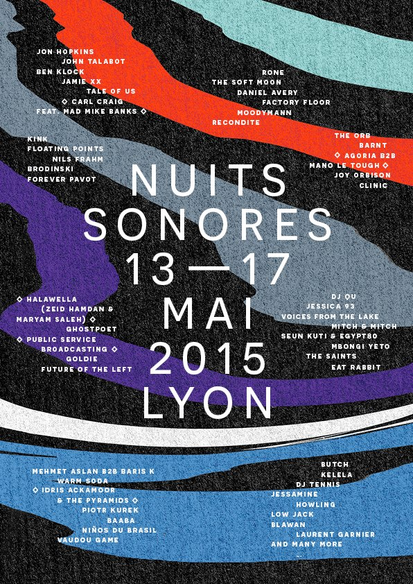 Poster Nuits Sonores
