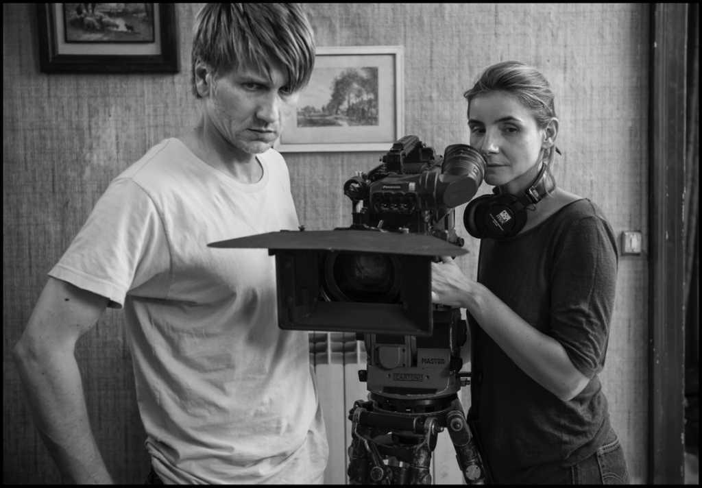 Pierre et Manon en plein tournage - Image droits réservés - www.arte.tv