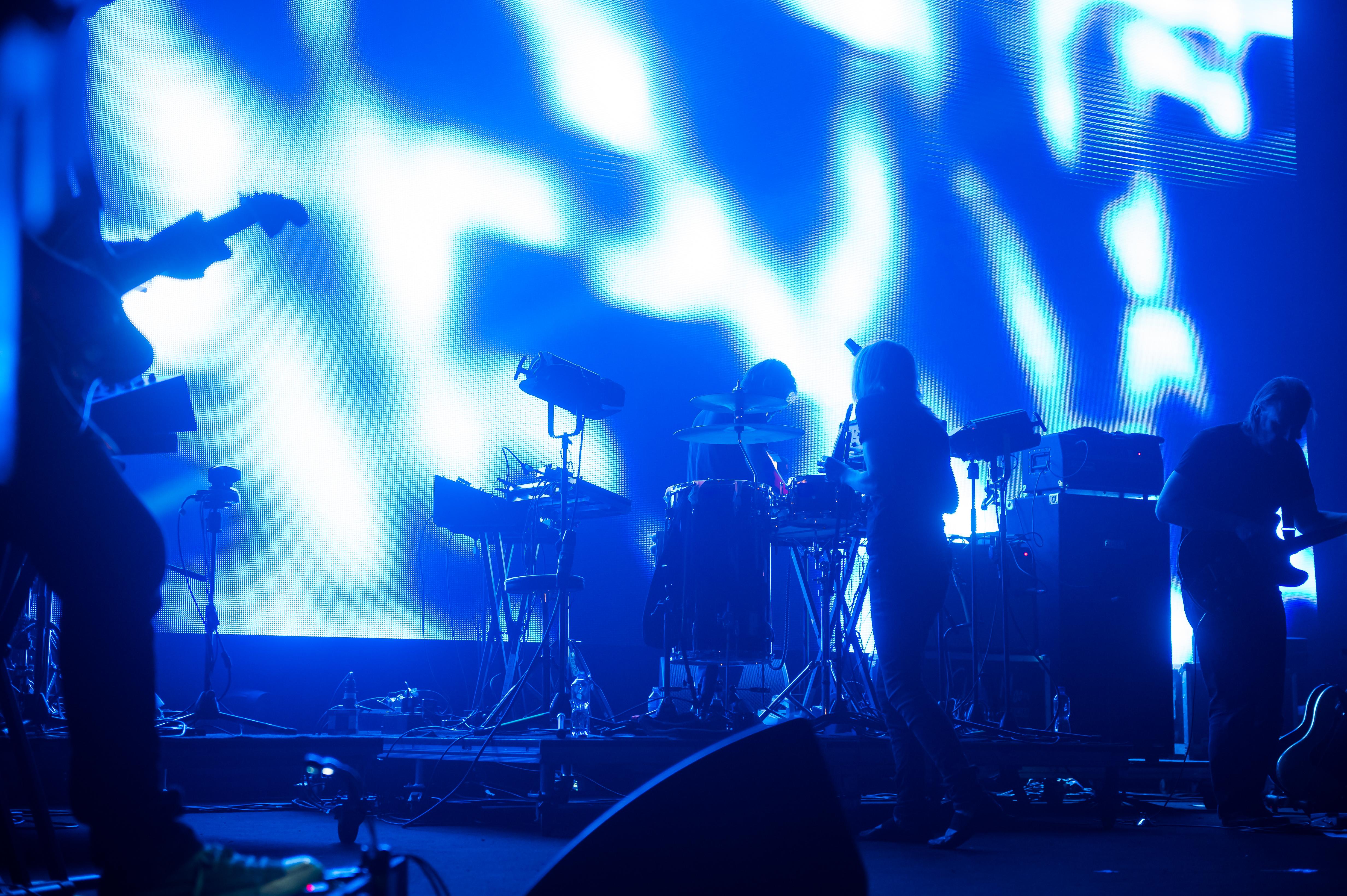 Portishead au Montreux Jazz Festival / Tous droits réservés