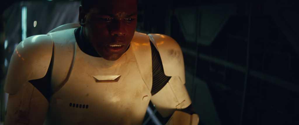 Finn (John Boyega) Droits réservés Lucasfilm Ltd. The Walt Disney Company