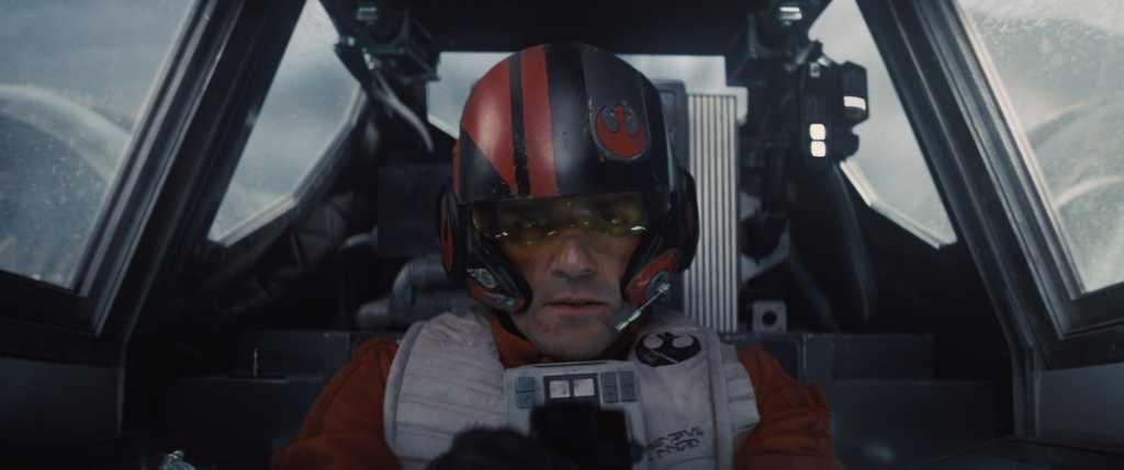 Poe Dameron (Oscar Isaac) Droits réservés Lucasfilm Ltd. The Walt Disney Company