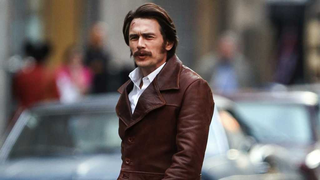 James Franco durant le tournage de The Deuce - Image droits réservés - © HBO