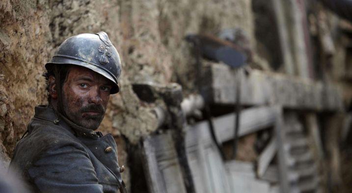 Georges (Romain Duris) détruit par le spectre de la guerre - Image droits réservés - © Le Pacte