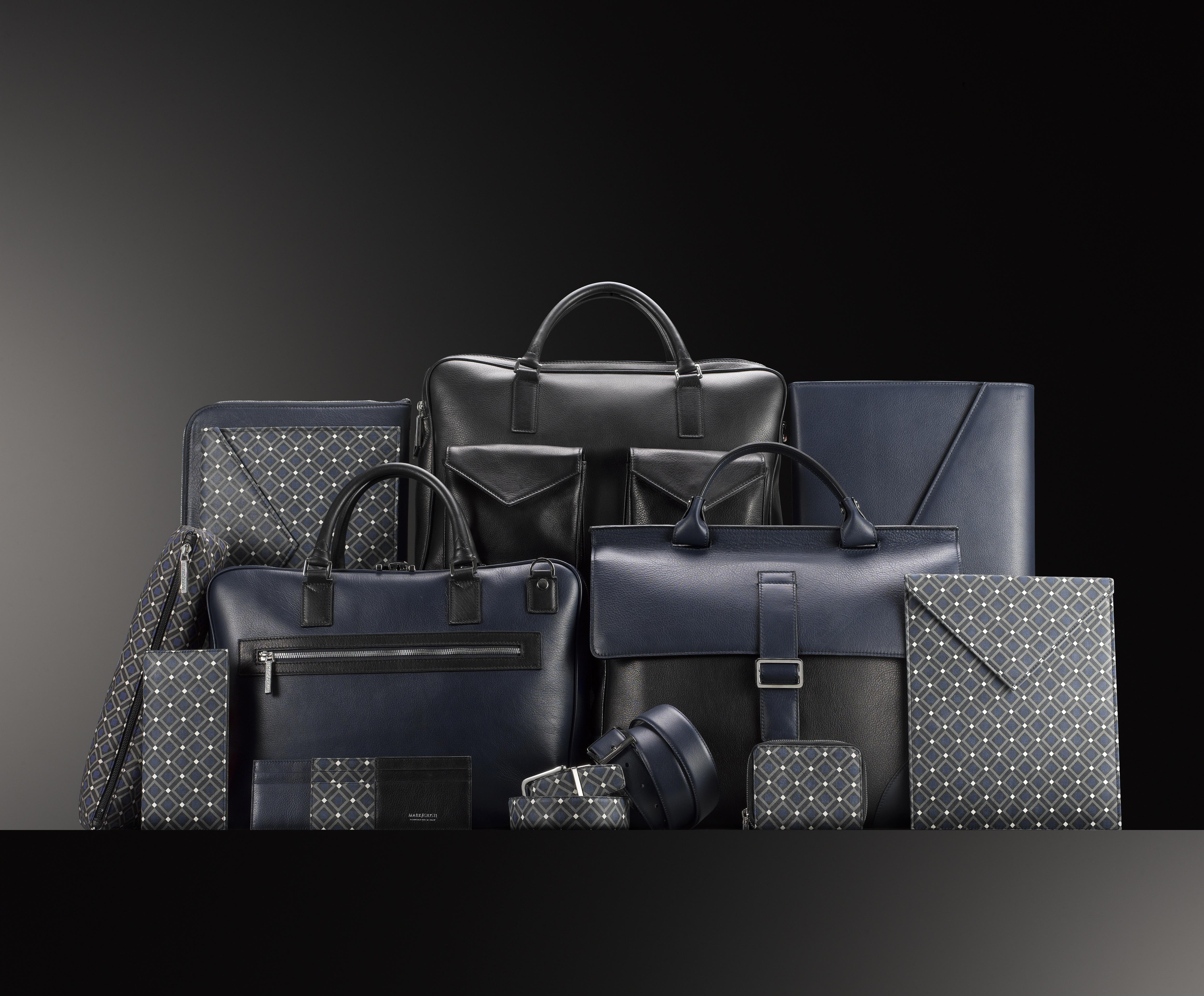 Les sacs et accessoires de Mark Giusti.